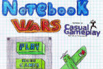 Notebook Wars Shooting game